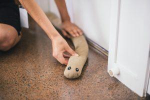 DIY Door Snake